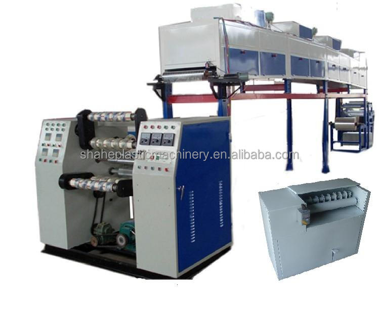 High speed adhesive tape making machinery