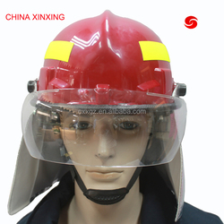 CHINA XINXING professional lightweight firemen fire fighting rescue safety helmet