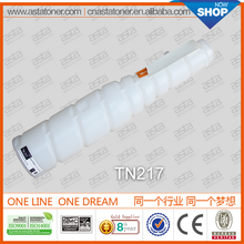 TN-217 compatible toner refill for konica minolta