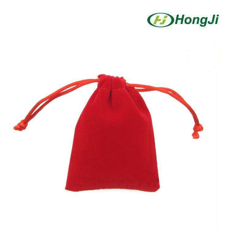 도매 검은 색 붉은 색 분홍 7*9cm drawstring 벨벳 주머니 보석 가방 ...