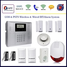 security equipment, pir motion sensor, gsm alarm system 868mhz