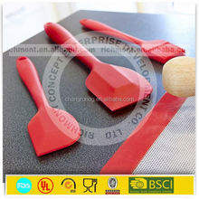 wholesale plastic kitchen tool/item silicone cake scraper blade 100% food grade silicone products