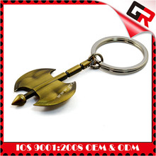 The king of quantity gifts metal keychain