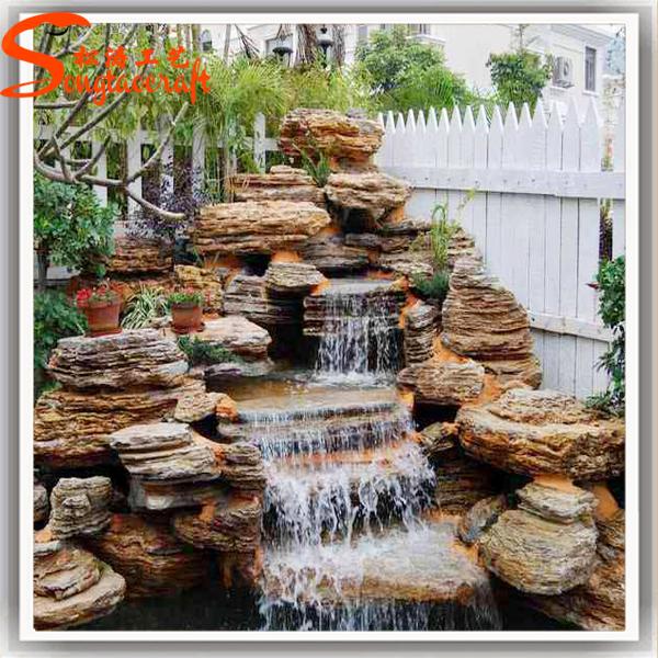 Fuentes de agua para jardin exterior best fuente de agua - Cascada de jardin ...