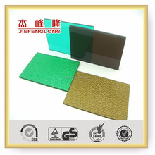 Colored Manufacturer 4x8 GE Lexan Roll Panel Price Greenhouse Roofing Polycarbonate Solid Sheet for Sound Insulation