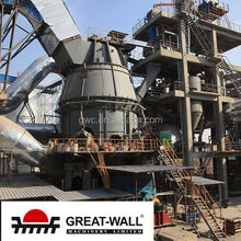 white building material vertical roller mill factory for overseas