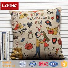 2015 Creative Love Design Printed Cushion Home Decor Lumbar Support Pillow,Cheap Decorative Memory Foam Seat Cushion