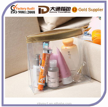 hot sale transparent clear cosmetic bag waterproof