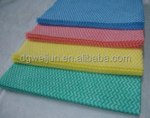 eco-friendly cleaning made in china spunlace nonwoven 100% pp