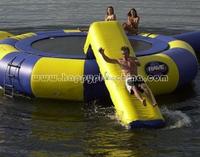 Inflatabble water trampoline, water bridge games