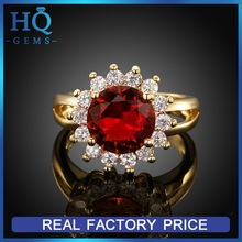 Top grade new coming ring female gold