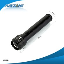 ZOOM FOCUSING Aluminum Q5 LED Flashlight