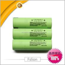 high dischage cgr18650af li-ion battery 3.6v / CGR18650CG 3.6V 2250mAh battery cell for panasonic