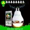 intelligent bulb wifi bulb 3w led light decoration party bar ktv led lamp RGB speaker led made in China