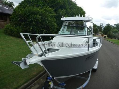 Aluminum Boat Hard Tops : M center cabin hard top aluminum boat with hp motor