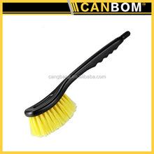 Car tire brush,Car wash brush head,Car cleaning brush with Plastic Handle