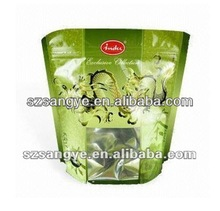 stand up aluminum foil bag in penang/food stand up pouch with zipper