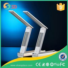 2015 Qi 8000mAH Folding Rechargeable Cordless Qi Wireless Charger The LED Office Desk Lamp LED Table Lamps