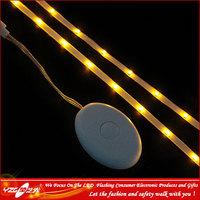 Visible Manufacture Optical Fiber 3-6V Battery Powered green LED FPC light