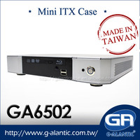 GA6502 - Taiwan Made Computer Thin Mini ITX Cases for HTPC
