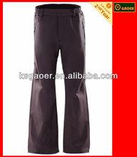 Man field mountain climbing and hiking pants trousers