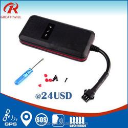 wireless cheap small ip67 waterproof gps vehicle tracker