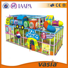 2015 hot selling indoor playground plastic playsets