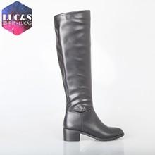 H1509-k311 mejor diseño negro botas de montar a caballo botas para dama