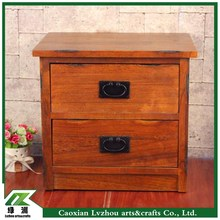 Wood storage cabinet / beside table / night table for bed room
