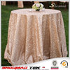 wholesale sequin wedding party table cloth for round tables