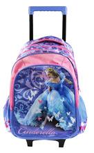 Lovely Cinderella Trolley School Bag