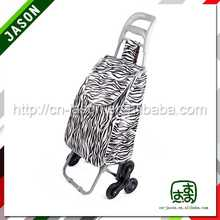 metal shopping trolley golf club travel bag