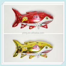 Advertising animal shark shape foil balloon for party