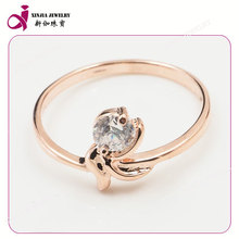 animal design synthetic tremendous shining white cz diamond ring jewellery