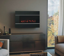 G-36B wall mounted electric fireplace with fake fireplace log