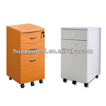 HX-MZ386 desk mate small movable filing cabinet