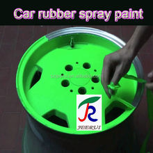 400ml/450ml,luminous glow in dark, colorful removable liquid car rubber paint spray film,aerosol acrylic lacquer spray gallon