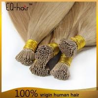 6A Grade Fashion Keratin Fusion Loop Tip Hair 100% Cheap Indian Remy Micro Loop Ring Human Hair Extension 1g