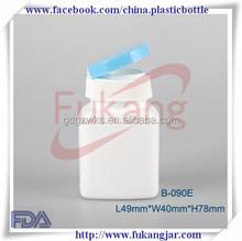 square 90ml plastic vials pop top vials bottles plastic drug on sale,HDPE 3 oz. tablets bottle