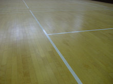 Maple Sport Flooring for Badminton Court