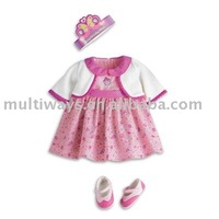 OEM cute doll clothes for toys