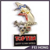 High quality custom different shape Sydney Olympic souvenir badge