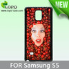 DIY personalized customized printing blank subliamtion cell phone case for Samsung s5