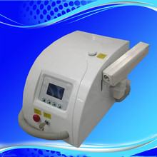 Portable tattoo removal/eyebrow removal/age spot removal machine q switch nd yag laser