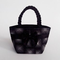 Handbag black and white collection