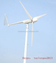 home best power generator, 2kw mini windturbine, 2kw 48v dc generator