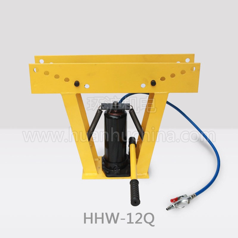 how to use a 12 ton hydraulic pipe bender