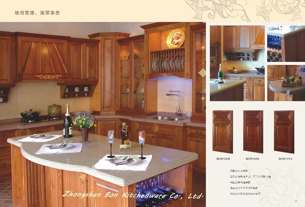 Cheap solid wood kitchen cabinets buy birch