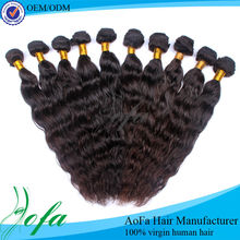 100% virgin Human hot hair 2012