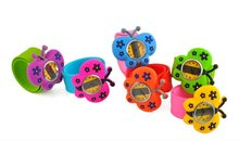 Word Hot Sell Popular Silicone Quartz child slap watch for Kids